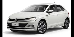 Volkswagen Polo fundo branco