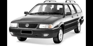 Volkswagen Quantum fundo branco