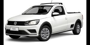 Volkswagen Saveiro fundo branco