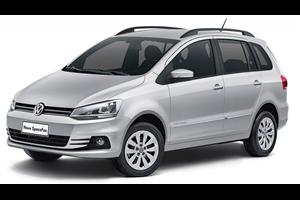 Volkswagen Spacefox fundo branco