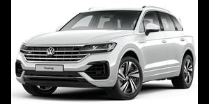Volkswagen Touareg fundo branco