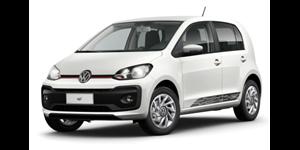 Volkswagen up! fundo branco