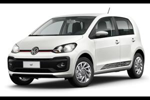Volkswagen up! com fundo branco