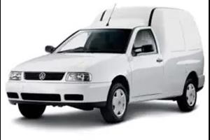 Volkswagen Van fundo branco