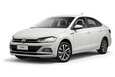 Volkswagen Virtus com fundo branco