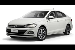 Volkswagen Virtus fundo branco
