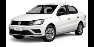 Volkswagen Voyage fundo branco